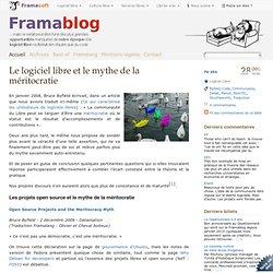 Le logiciel libre et le mythe de la méritocratie