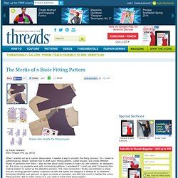 The Merits of a Basic Fitting Pattern