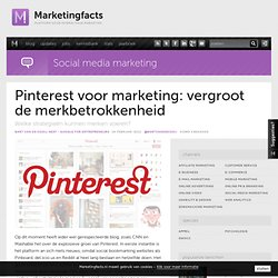 Pinterest voor marketing: vergroot de merkbetrokkenheid