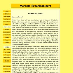 Merkels Erzählkabinett