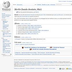 Merlin (bande dessinée, Sfar)