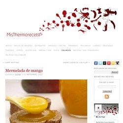 Mermelada de mango » Recetas Thermomix