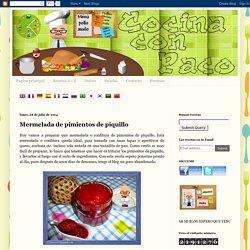 Cocina con Paco: Mermelada de pimientos de piquillo