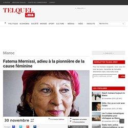 Fatema Mernissi, adieu à la pionnière de la cause féminine