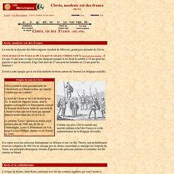Les Mérovingiens 1 : Clovis, modeste roi des francs