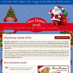 Merry Christmas Cards 2016, Xmas Cards 2016, Christmas 2016 Cards