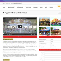 Merry go round/carousel ride for sale