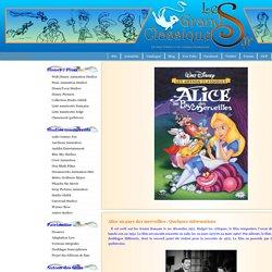 Alice au pays des merveilles - Walt Disney Animation Studios