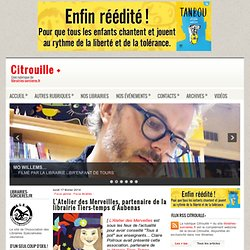L'Atelier des Merveilles, partenaire de la librairie Tiers-temps d'Aubenas ~ Citrouille +