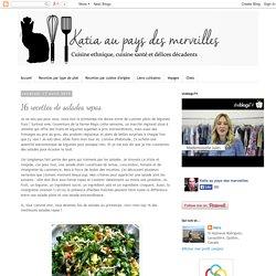 16 recettes de salades repas