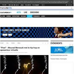 """""""Pixel"""" : Mourad Merzouki met le hip-hop en apesanteur virtuelle"""