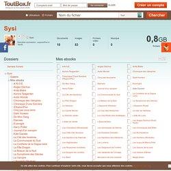 Mes ebooks - Sysi
