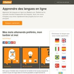 Mes 7 mots allemands préférés, mon coiffeur et moi - Babbel.com