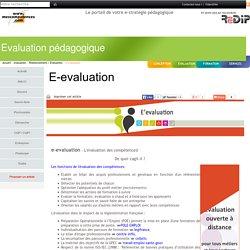 le portail de votre e-strategie pédagogique