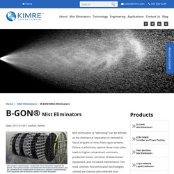 Benefits from Mesh Pads Supplied by Kimre Inc.