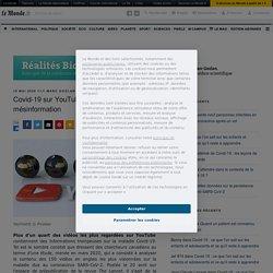 Covid-19 sur YouTube : une pandémie de mésinformation – Réalités Biomédicales