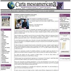 Carta Mesoamericana - Tayikistán es totalmente dependiente de las remesas