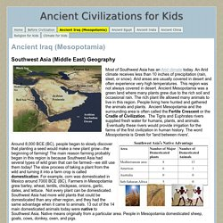 Ancient Iraq (Mesopotamia) - Ancient Civilizations for Kids