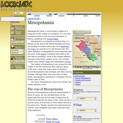 Mesopotamia - LookLex Encyclopaedia
