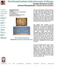 Mesopotamia: Science & Inventions