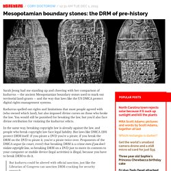Mesopotamian boundary stones: the DRM of pre-history / Boing Boing