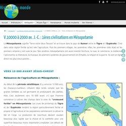 Mésopotamie - Antiquité - Moyen-Orient - Histoire du monde
