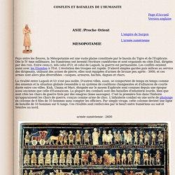 Mésopotamie jusqu'au 12 ème siècle