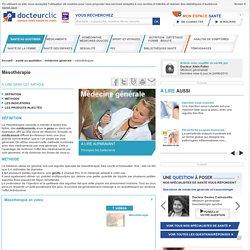 Mésothérapie : traitement, définition - docteurclic.com