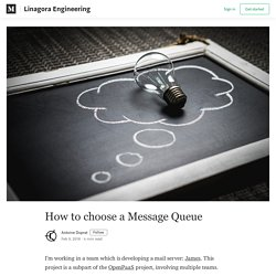 How to choose a Message Queue - Linagora Engineering - Medium