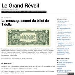 Le message secret du billet de 1 dollar