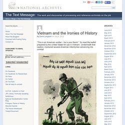 The Text Message » Vietnam and the Ironies of History