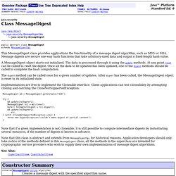 MessageDigest (Java Platform SE 6)