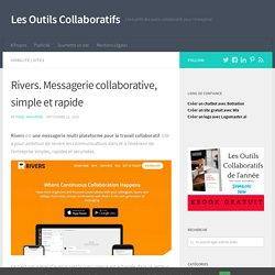 Rivers. Messagerie collaborative, simple et rapide