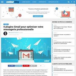6 plugins Gmail pour optimiser votre messagerie professionnelle
