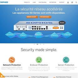 Antivirus, Systèmes d'extrémité, chiffrement des disques, Sécurité du Web et des messageries
