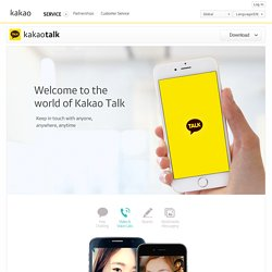Kakao Talk Mobile Messenger Has Over 100 Million Users Chatting Worldwide