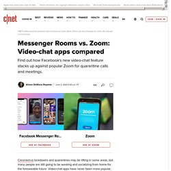 Messenger Rooms vs. Zoom: Video-chat apps compared