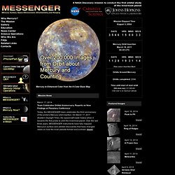 MESSENGER Web Site
