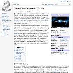 Messiah (Derren Brown special)