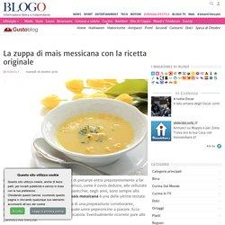 Zuppa di mais messicana