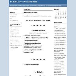 messie : LA BIBLE avec Gustave Doré