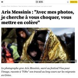 """Aris Messinis : """"Avec mes photos, je cherche à vous choquer, vous mettre en colère"""""""