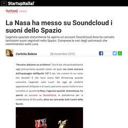 La Nasa ha messo su Soundcloud i suoni dello Spazio