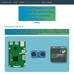 Mesure de distance avec le module HC-SR04 sur Raspberry Pi