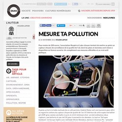 Mesure ta pollution