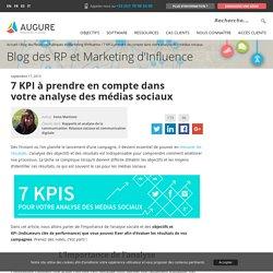 7 KPI pour mesurer vos actions sur les réseaux sociaux