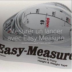 Mesurer un lancer avec Easy Measure