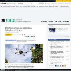 Des mesures anti-drones à l'étude en France