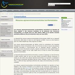 Mesures agroenvironnementales territorialisées