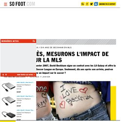 Beckham en MLS : Quel impact ?